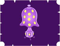 キノコのランプ・紫1100YM.PNG