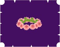 ミニ桃色シロツメクサの冠4300YM.PNG